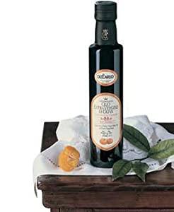 De Carlo Extra Virgin Flavored Extra Virgin Olive Oil - Lemon or Mandarino -8.4 ozs.