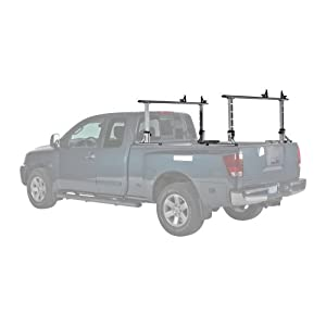 Click to read our review of Kayak Storage Racks: Thule Xporter Multiheight Aluminum Truck Rack