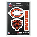 NFL Chicago Bears Team Decal, 3-Pack