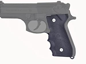 Hogue Rubber Grip Beretta 92/96 Series Grip with Finger Grooves