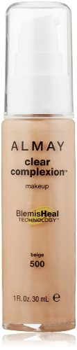 ALMAY Clear Complexion Makeup, Beige, 1 Fluid Ounce