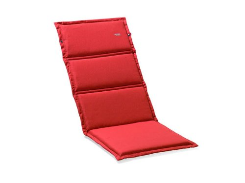 Sieger 5644 4721 Recliner Cushion 100 % Structured Polyester 168 x 50 x 4 cm Red