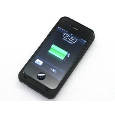 iPhone4 専用 バッテリー付き保護ケース