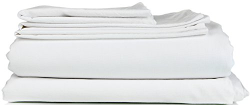 King Size Sheet Set - 6 Piece Set - Hotel Luxury Bed Sheets - Extra Soft - Deep Pockets - Easy Fit - Breathable & Cooling Sheets - Wrinkle Free - Comphy - White Bed Sheets - Kings Sheets - 6 PC (King Sheet Set Hotel compare prices)