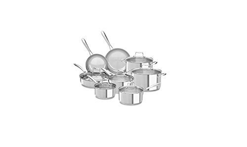 KitchenAid Stainless Steel 14-Piece Cookware Set (Kitchenaid Cookware Set compare prices)