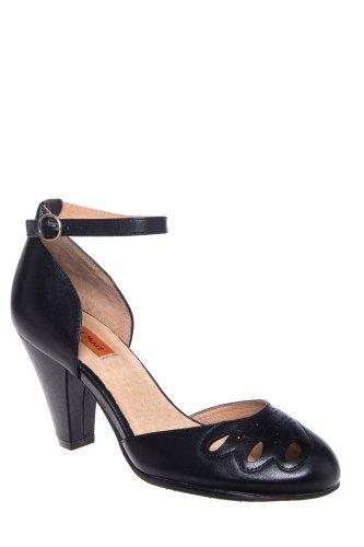 Cherub High Heel D'Orsay Ankle Strap Pump