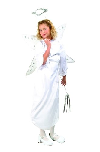 RG Costumes 19106-M Angel Costume With Halo - Size Child-Medium