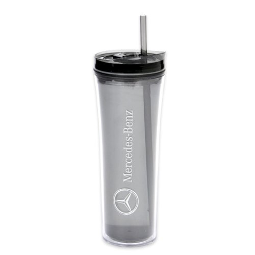 Genuine Mercedes Benz Gray Boost Tumbler Mug Water Bottle