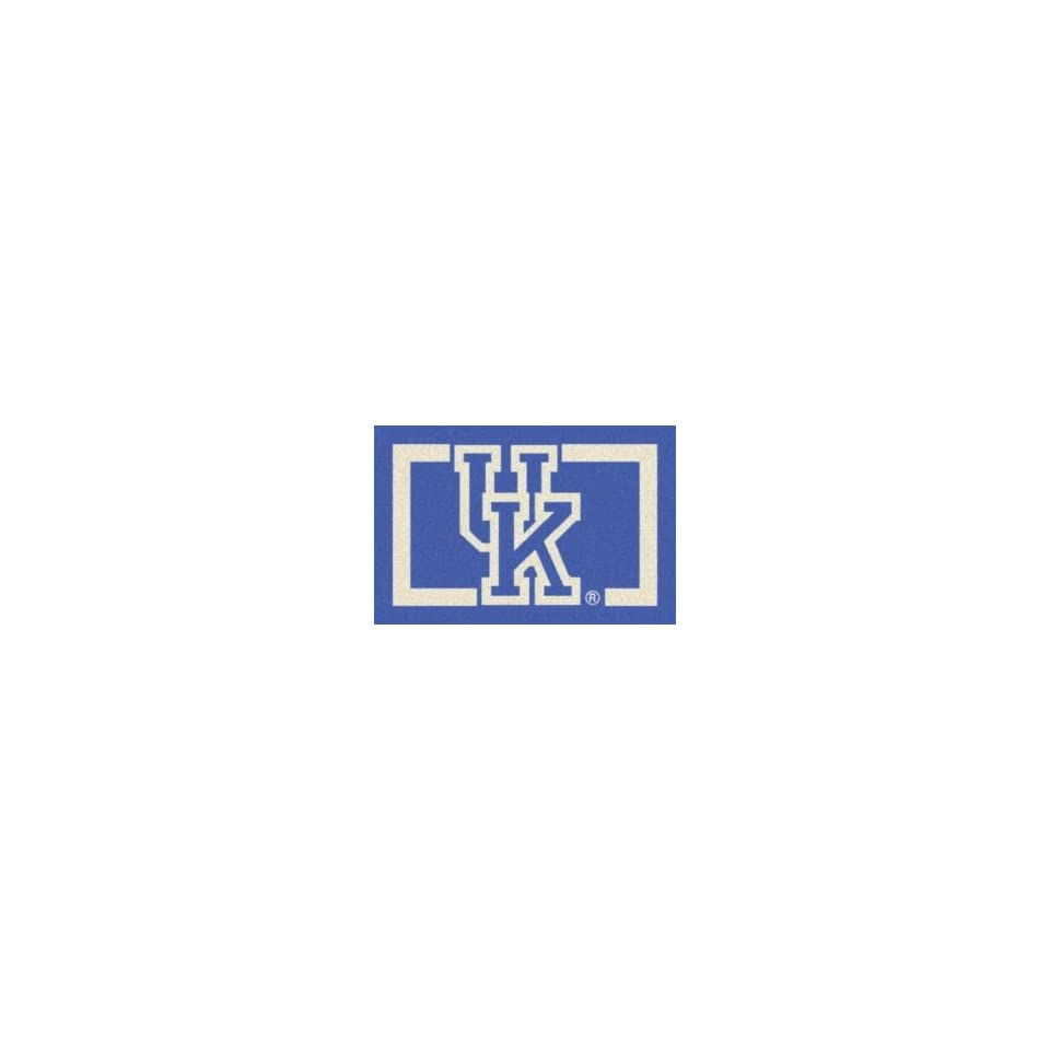 Milliken University Of Kentucky 3 10 x 5 4 blue Area Rug
