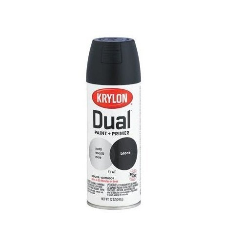 krylon-8831-dual-flat-black-paint-and-primer-12-oz-aerosol-by-krylon