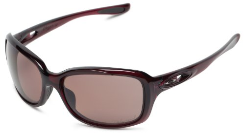 Oakley Wourgency OO9158-13 Polarized Sport Sunglasses,Crystal Raspberry,55 mm