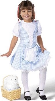 Wizard of Oz - Lil Dorothy Child Costume Size 8-10 yrs Large