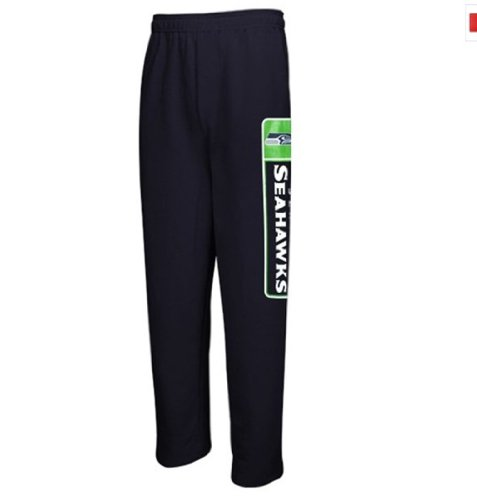 NFL Men's Seattle Seahawks Critical Victory VII Fleece Pants,5XL at Amazon.com