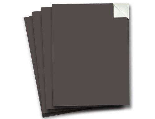 Wallies Peel and Stick Chalkboard Sheet, Slate Gray, Set of 4