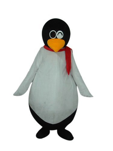 Mr. Round Belly Penguin Mascot Costume Adult L Size