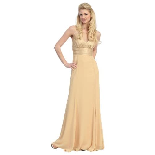 Bridesmaid Formal Prom Gown Dress