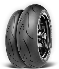 CONTINENTAL MOTION Tire Set 120/70zr17