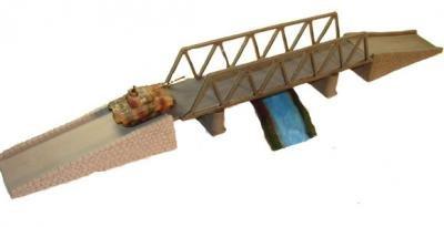 Terrain: 15mm Bridges - Bridge Set