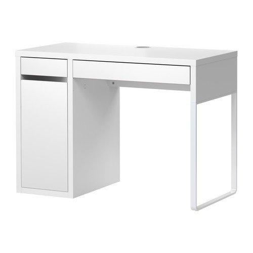 IKEA-MICKE-Schreibtisch-in-wei-105x50cm