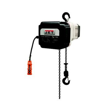 Jet 182516 Volt-025-03P-15 1/4 Ton 3-Phase 460V Electric Chain Hoist With 15 Ft. Lift