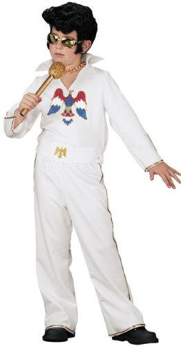 Child'S Elvis Presley Rosk Star Costume (Size: Large 12-14)
