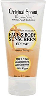 Original Sprout Face &amp; Body Sunscreen SPF 24