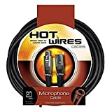 Hot Wires Microphone Cables - 20 Feet
