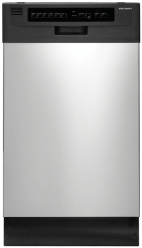 18 In. Built-In Dishwasher - Stainless Steel