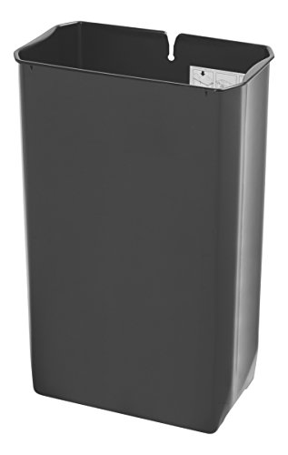 Rubbermaid Commercial Slim Jim End Step-On Trash Can Rigid Liner, Metal, 13 Gallon (Recycle Can Liner compare prices)