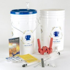 Christmas Holiday Gift Special HomeBrew Starter Kit with Chocolate Oatmeal Stout Recipe Ingredients