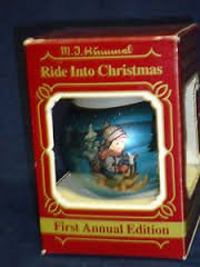 Hummel RIDE INTO CHRISTMAS First Edition Ornament 1983