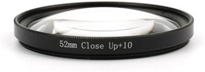 CLOVE R52mm Macro Close Up 10 Lens Filter with Lens Adapter Ring for GoPro Hero 3 Hero 3 Plus Hero 4