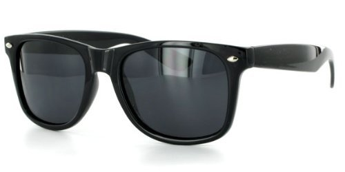 7055ce97a18 Wayfarer PL701 Dark Polarized Retro Sunglasses for Men or Women Protect  Your Eyes From Harmful Glare