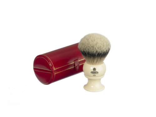 Kent Pure Badger Silver Tip Bristle Shaving Brush Extra Large