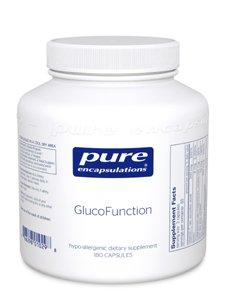 Pure Encapsulations Glucofunction 180 Vcaps (Gl182)