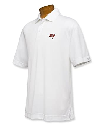 NFL Tampa Bay Buccaneers Mens B and T DryTec Championship Polo Shirt by Cutter & Buck