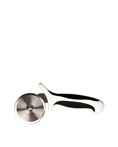 Mercer Culinary Millennia 2 3/4″ Pizza Cutter, White Handle, Black/Steel