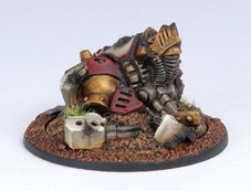 Privateer Press - Warmachine - Protectorate: Light Warjack Wreck Marker Model Kit