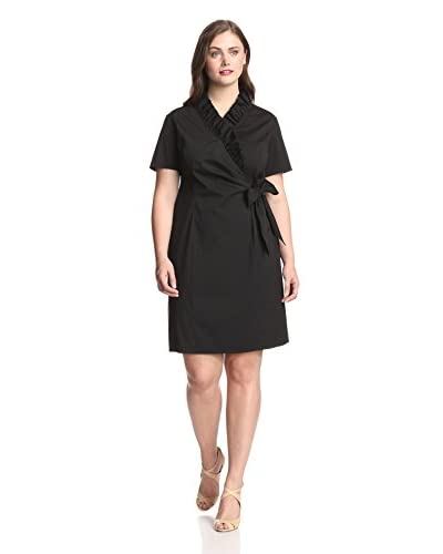 Lafayette 148 New York Plus Women's Edita Wrap Dress