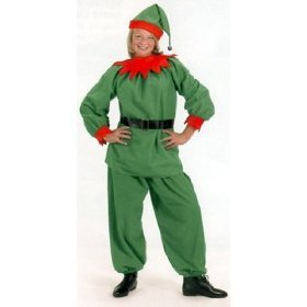 Elf Velour Costume