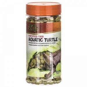 Zilla Fortified Food for Aquatic Turtles: BULK 36 oz 6 x 6 oz
