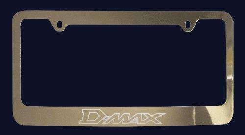 Isuzu D-Max License Plate Frame (Zinc Metal)