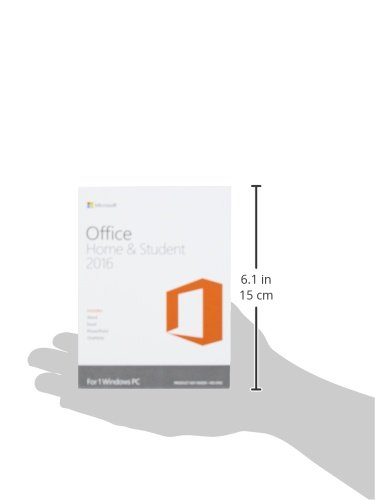 Microsoft Office Home And Student 2016 PC Key Card