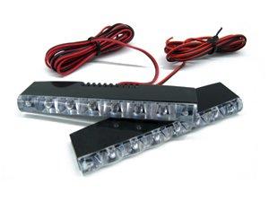 Euro Style 6 Mini LED DRL Daytime Running Light