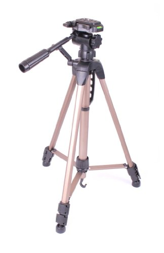 duragadget-high-quality-extendable-tripod-with-adjustable-legs-and-spirit-level-for-veho-vcc-005-muv