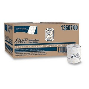 KIM13607 - Embossed Premium Scott 2-Ply Bathroom Tissue