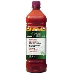 Omni 100 Natural Unrefined Red Palm Oil 1 Litre by Spicy World