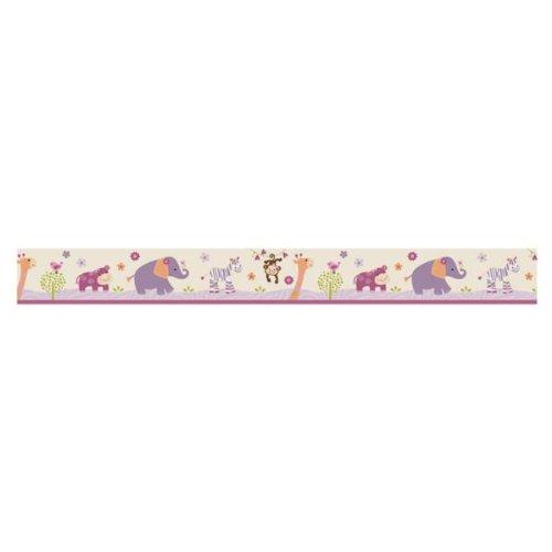 Lambs & Ivy Wallpaper Border, Lil Friends front-940716