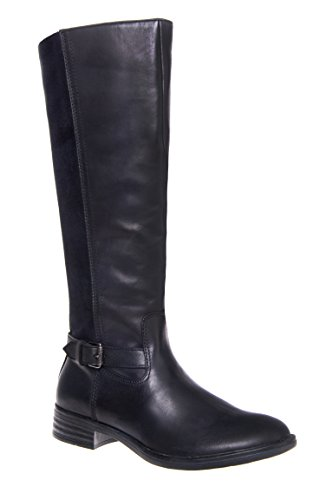 Trapani Suede Back Knee High Boot