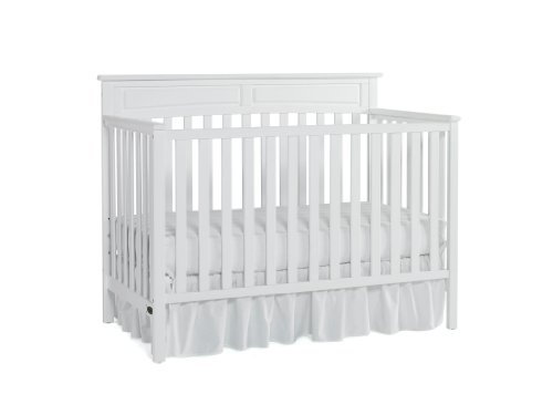 Graco Somerset Convertible Crib, Classic White